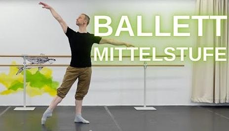 Ballett Stange Mittelstufe