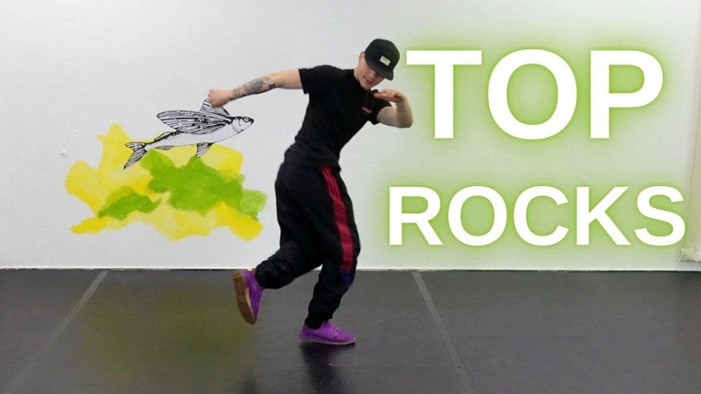 Breakdance: Top Rocks + Variationen